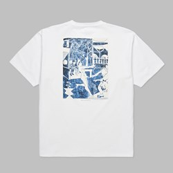 POLAR SKATE CO. STAGE THREE SS TEE WHITE