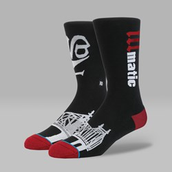 STANCE ANTHEM LEGENDS 'ILLMATIC' SOCKS BLACK