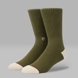 STANCE X BRIXTON SURPLUS SOCKS ARMY