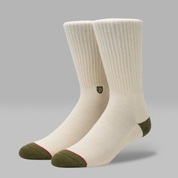 STANCE X BRIXTON SURPLUS SOCKS NATURAL