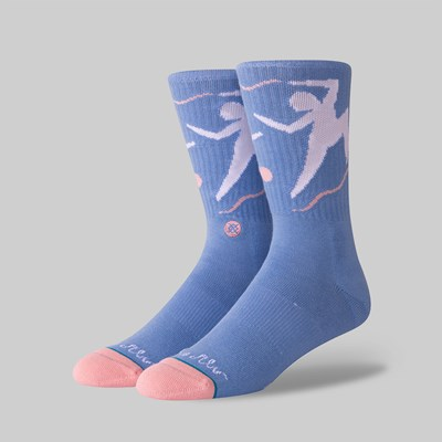 STANCE SOCKS X PONTUS ALV 'DANCE WITH ME' BLUE