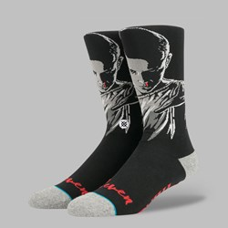 STANCE X STRANGER THINGS 'ELEVEN' SOCKS BLACK