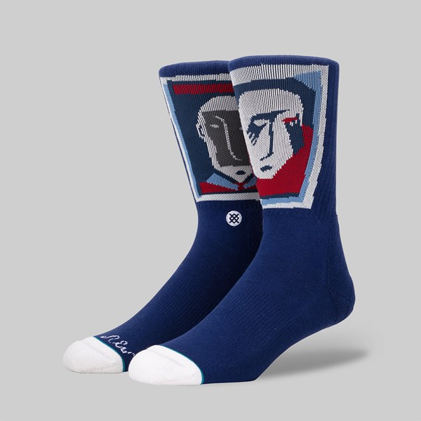 STANCE SOCKS X PONTUS ALV 'FACE' BLUE
