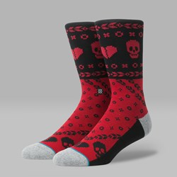 STANCE HEART BANDIT SOCKS RED