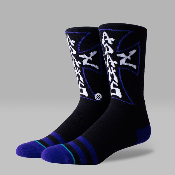 STANCE JAY ADAMS SOCKS BLACK