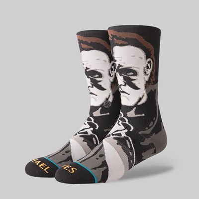 STANCE X LEGENDS OF HORROR 'MICHAEL MYERS' SOCK BLACK