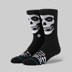 STANCE SOCKS X THE MISFITS BLACK