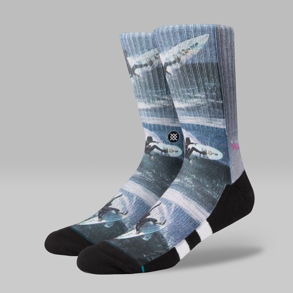 STANCE X SURF LEGENDS ROB SOCKS WHITE