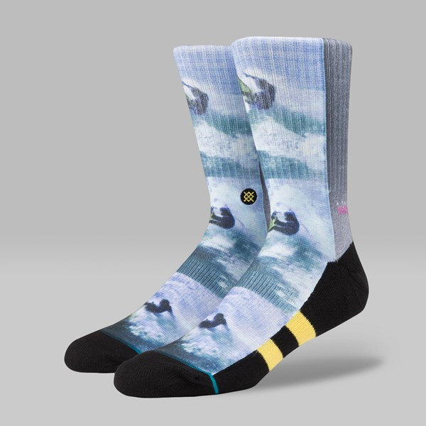 STANCE X SURF LEGENDS ROSS SOCKS YELLOW