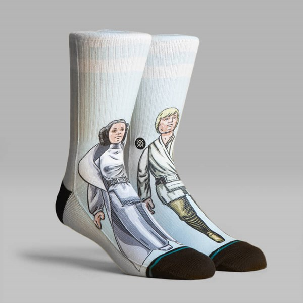 STANCE SOCKS STAR WARS 40TH 'FAMILY FORCE' AQUA