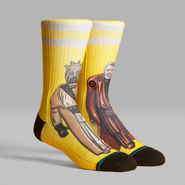 STANCE SOCKS STAR WARS 40TH 'JUNLAND WASTE' YELLOW