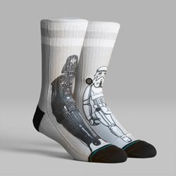 STANCE SOCKS STAR WARS 40TH 'MASTER OF EVIL' GREY