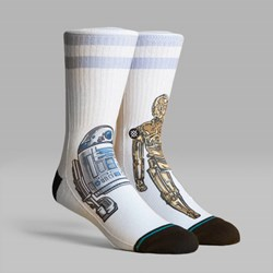 STANCE SOCKS STAR WARS 40TH 'PRIME CONDITION' WHITE