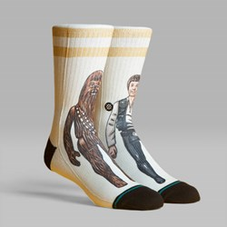 STANCE SOCKS STAR WARS 40TH 'SMUGGLER TRADE' WHITE