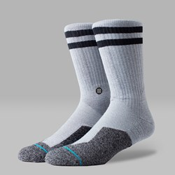 STANCE SOUTHBANK SOCKS GREY HEATHER