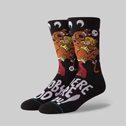 STANCE SOCKS X SCOOBY DOO 'WHERE ARE YOU' BLACK