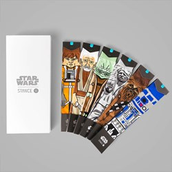 STANCE X STAR WARS LIGHT SIDE 6 PACK BOX SET