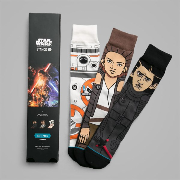 STANCE X STAR WARS THE FORCE AWAKENS 3 PACK BOX SET