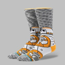 STANCE X STAR WARS THE LAST JEDI 'BB-8' SOCKS