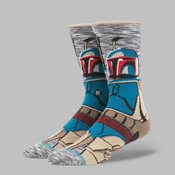 STANCE X STAR WARS THE LAST JEDI 'BOUNTY HUNTER' SOCKS