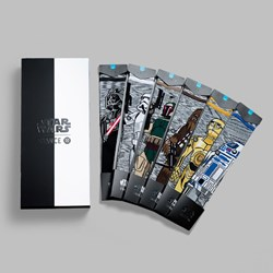 STANCE X STAR WARS THE LAST JEDI 'CLASSIC' 6 PACK SOCKS