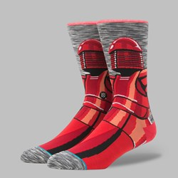 STANCE X STAR WARS THE LAST JEDI 'RED GUARD' SOCKS