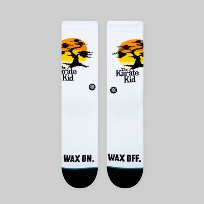 STANCE X THE KARATE KID 'KARATE KID' WHITE