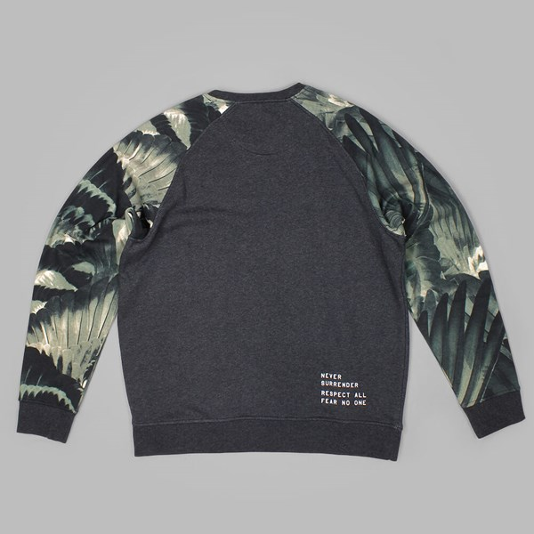 STAPLE FEATHER CAMO CREW NECK OLIVE