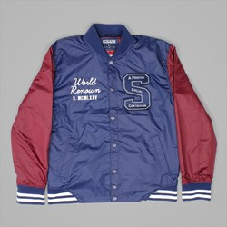 STAPLE PIGEON ACADEMY BASEBALL JACKET NAVY