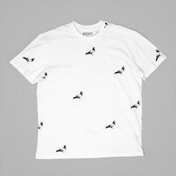 STAPLE PIGEON ALL OVER PIGEON T-SHIRT WHITE