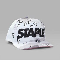 STAPLE PIGEON CONCRETE SNAPBACK CAP GREY