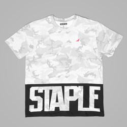 STAPLE PIGEON DOTS TEE WHITE
