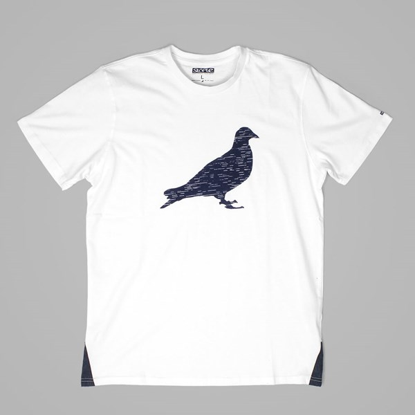 STAPLE PIGEON LINES TEE WHITE