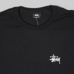STUSSY INT. ARC LONG SLEEVE TEE BLACK