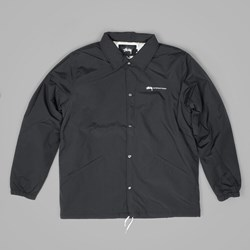 STUSSY INTERNATIONAL COACH JACKET BLACK