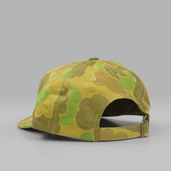 STUSSY JACQUARD CAMO LOW CAP BROWN