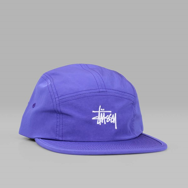 STUSSY MICRO RIPSTOP CAMP CAP PURPLE