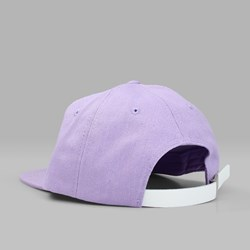 STUSSY SMOOTH STOCK CANVAS CAP LAVENDER
