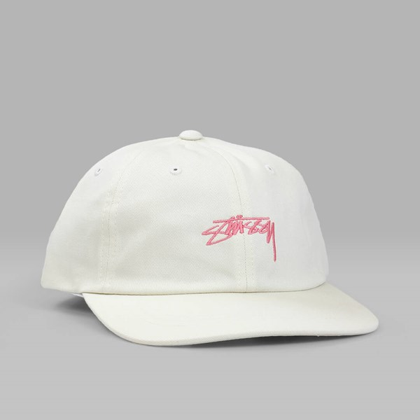 STUSSY SMOOTH STOCK LOW CAP CREAM