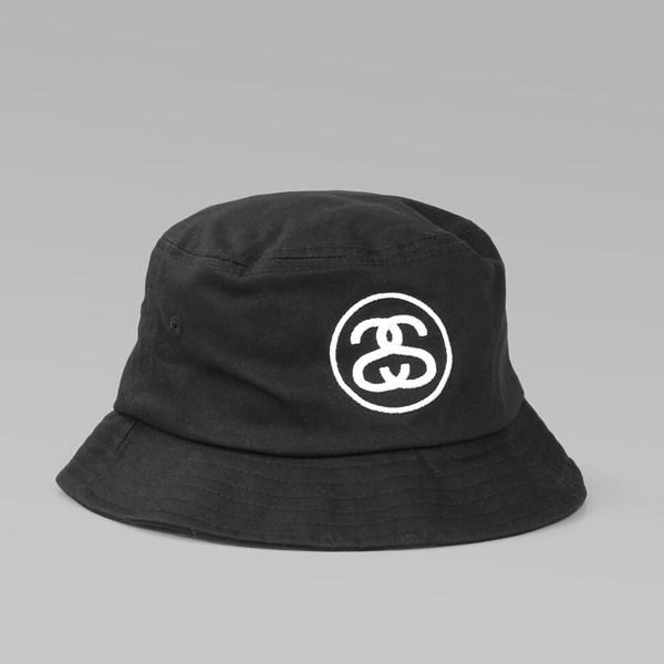 f017fd8b9f78a1 STUSSY SS-LINK SP16 BUCKET HAT BLACK | Stussy Caps