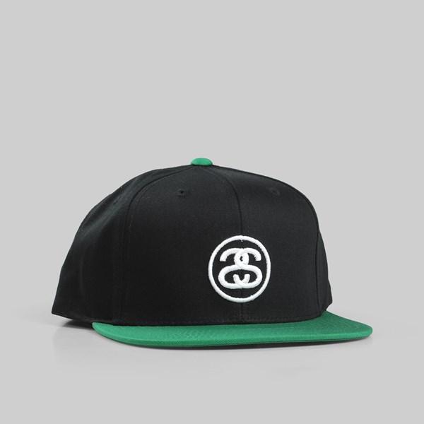 dd6e704d4b099d STUSSY SS LINK SU18 SNAPBACK CAP BLACK | Stussy Caps
