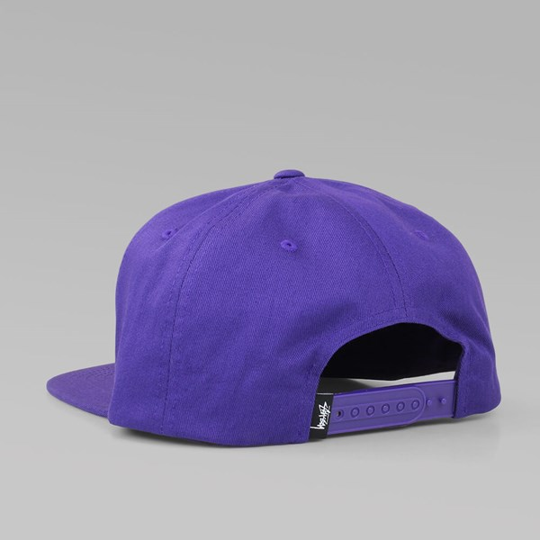 STUSSY STOCK SP16 CAP PURPLE