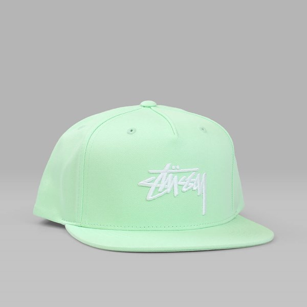 STUSSY STOCK SU17 CAP LIME GREEN