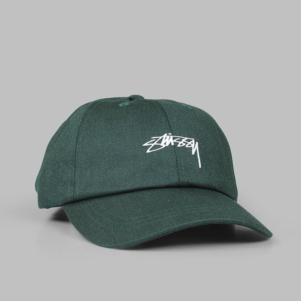 STUSSY SUITING LOW PRO CAP PINE