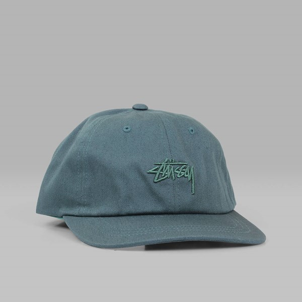 STUSSY TONAL STOCK LOW CAP GREEN