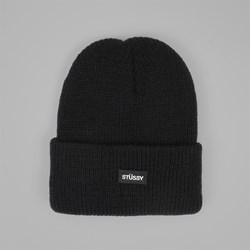 STUSSY WATCH FA17 BEANIE BLACK