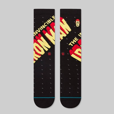 STANCE X MARVEL INVINCIBLE IRON MAN SOCKS BLACK