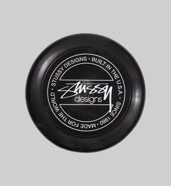 STUSSY FLYING DISC BLACK