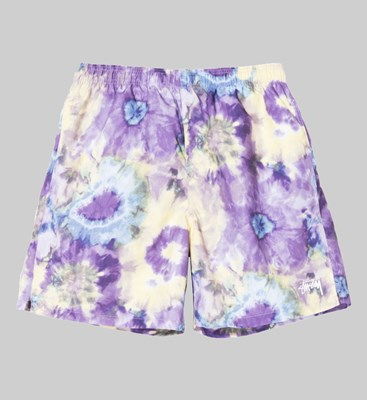 STUSSY TIE DYE WATER SHORT MULTI
