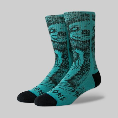 STANCE SOCKS X WELCOME 'LOVE ASIDE' SEAGREEN